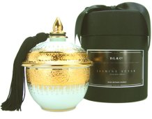 DL & Co Jasmine Attar candle