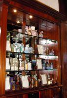 Perfume shelves at Penhaligons