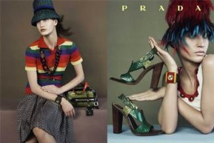 Prada fashion ads