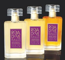 Roja Dove Scandal, Unspoken and Enslaved perfumes