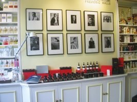 Frederic Malle display at Les Senteurs