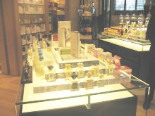 Henri Bendel perfume department