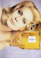 Catherine Deneuve for Chanel no. 5 perfume