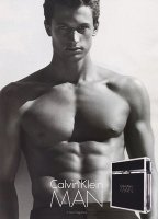 Calvin Klein man fragrance for men ad