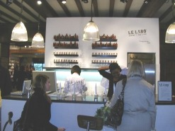 Le Labo counter at Liberty