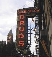 CO Bigelow store sign