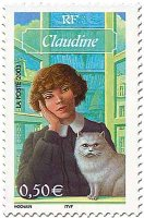 Claudine stamp