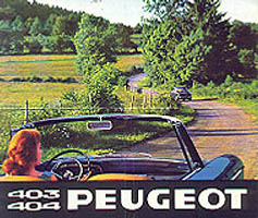 1960s Peugeot advert