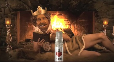 Burger King Flame cologne
