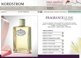 Nordstrom fragrance counter online