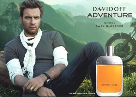 Ewan McGrefor for Davidoff Adventure cologne for men
