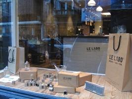 Le Labo boutique in NYC