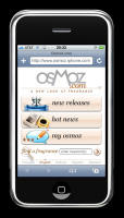Osmoz, mobile version