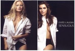 Estee Lauder Sensuous fragrance ad