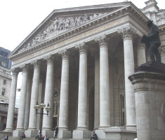Exterior, Royal Exchange, London