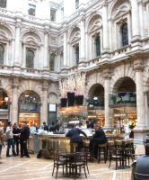 Interior courtyard, Royal Exchange, London