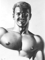 Tom of Finland drawing