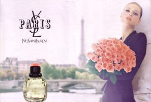 Yves Saint Laurent Paris fragrance