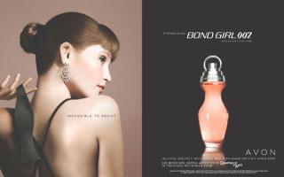 Avon Bond Girl