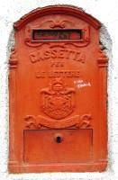 mail box, Italy