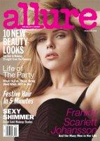 Allure, Scarlett Johansson, December 2008