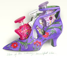 Bond no. 9 Andy Warhol shoe!