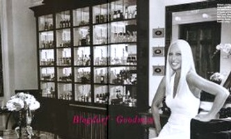 Donatella Versace and her bathroom