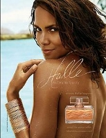 Halle by Halle Berry fragrance advert