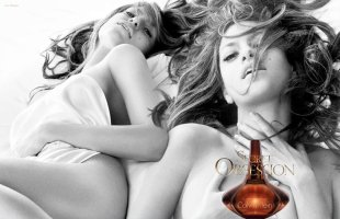 Eva Mendes for Calvin Klein Secret Obsession perfume