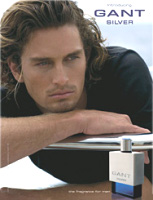 Gant Silver cologne for men