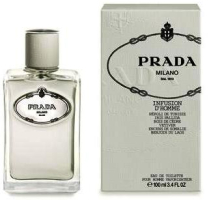 Prada Infusion d'Homme fragrance packaging