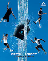 Adidas Fresh Impact cologne for men