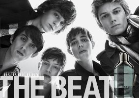 Burberry The Beat for Men fragrance advert