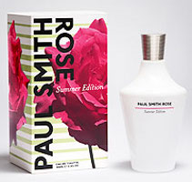 Paul Smith Rose Summer fragrance