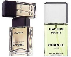 Chanel Egoiste & Egoiste Platinum colognes for men