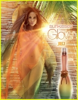 Jennifer Lopez J Lo Sunkissed Glow perfume advert