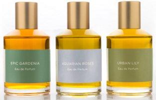 Strange Invisible Perfumes Aquarian Roses, Epic Gardenia & Urban Lily perfumes