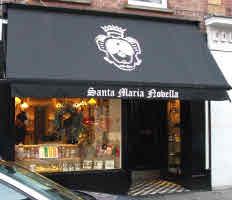 Santa Maria Novella boutique in London