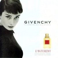 Audrey Hepburn for Givenchy L'Interdit