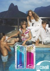 Roberto Cavalli Just Cavalli Blue & Pink fragrances