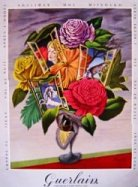 Guerlain fragrance vintage ad
