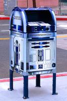 R2D2 USPS mailbox