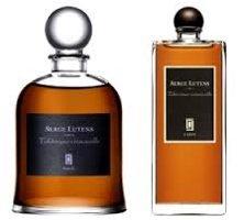 Serge Lutens Tubéreuse Criminelle, bell jar and export bottle