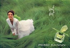 Balmain Vent Vert fragrance advert