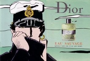 Christian Dior Eau Sauvage advert