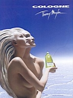 Thierry Mugler Cologne advert