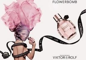 Viktor & Rolf Flowerbomb advert