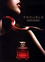 Boucheron Trouble perfume advert