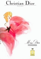 Miss Dior, vintage advert