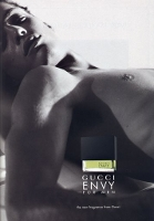 Gucci Envy for men fragrance advert
